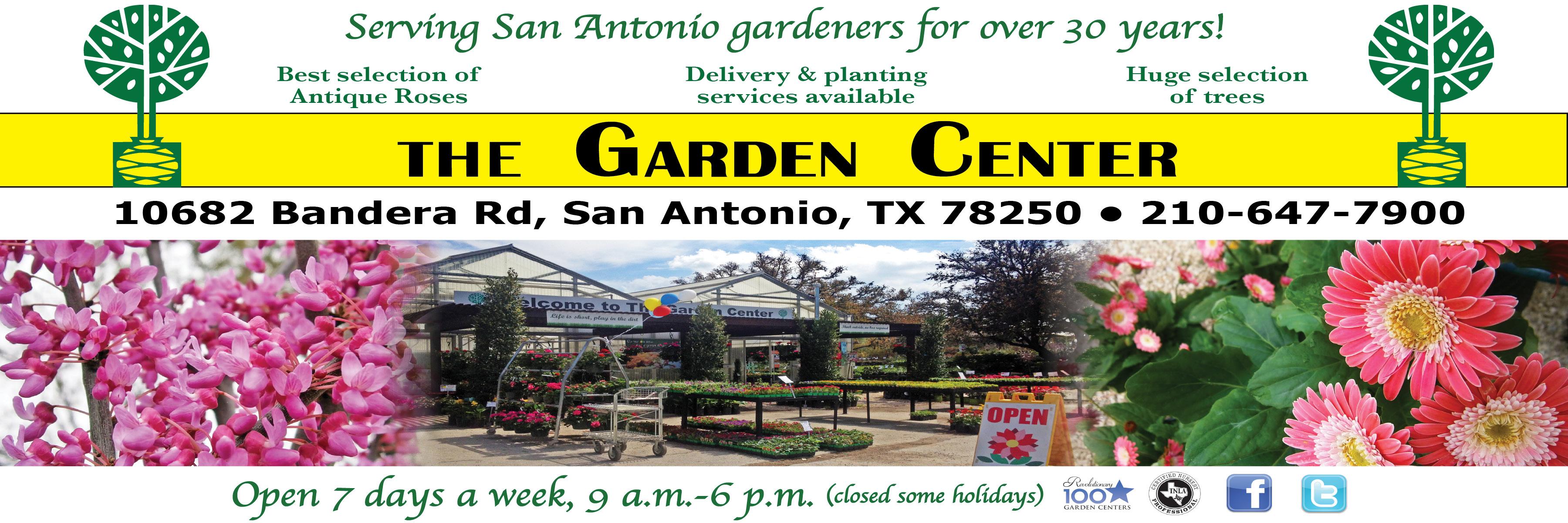 About The Garden Center Garden Center Nursery San Antonio